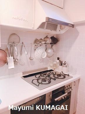可愛いけれど機能的な厳選キッチングッズとパリの調理道具専門店で買い求めたプロ仕様を愛用。