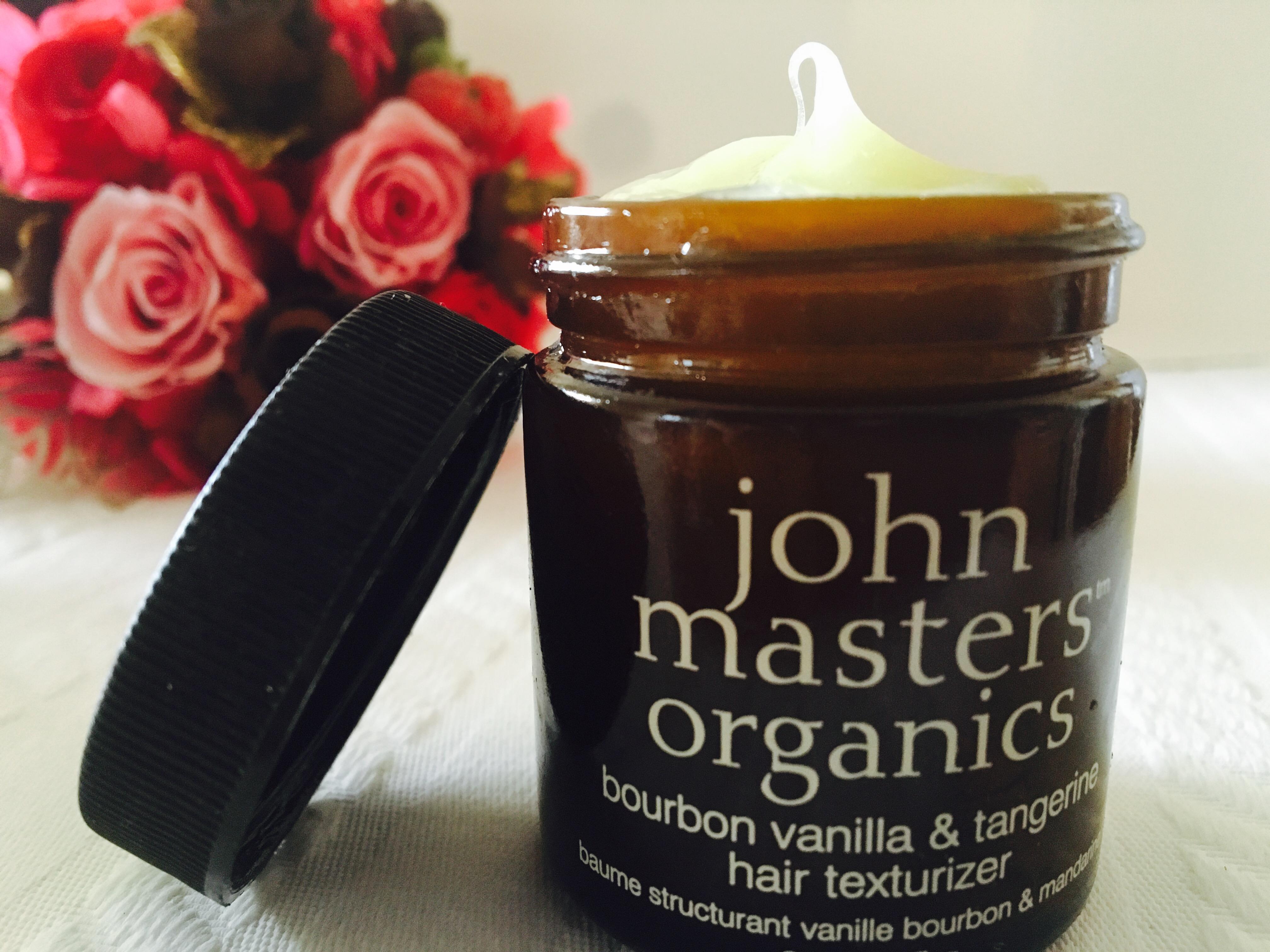 ジョンマスターオーガニック風手作りヘアスタイリング剤